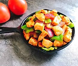 家常快手菜 酱爆鸡丁 简单好做健康美味又下饭的做法