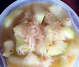 小海米冬瓜粉丝汤的做法
