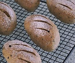 ㊙️全麦黑芝麻亚麻籽面包的做法
