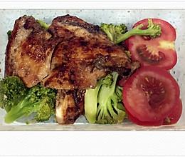 香煎鸡胸肉.减肥餐的做法