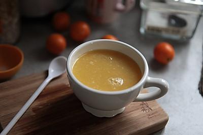白萝卜金桔汁