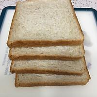 营养美味的芝士肉松三明治(含折纸法)的做法图解1