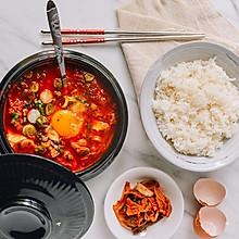 韩式嫩豆腐汤 (순두부찌개)| 原锅原汁原味