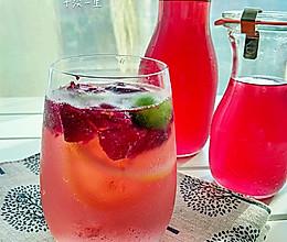 玫瑰糖浆玫瑰饮的做法