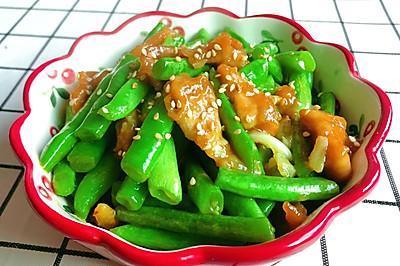 春日版——豆角炒肉