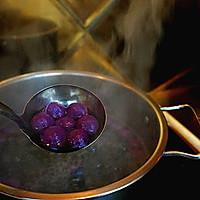 紫薯汤圆酒酿羹的做法图解7