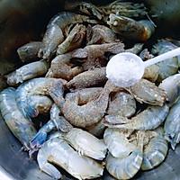 油爆虾#金龙鱼外婆乡小榨菜籽油 最强家乡菜#的做法图解8