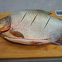 #精品菜谱挑战赛# 红烧鲳鱼的做法图解1