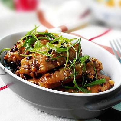 豆豉蒸鸡翅