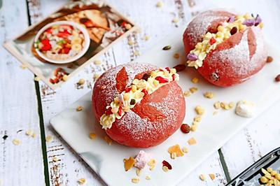 多谷草莓燕麥軟歐