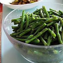 蒜蓉炒豇豆