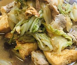 大白菜炒豆腐的做法