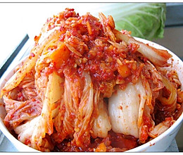 自制辣白菜(韩国泡菜)的做法
