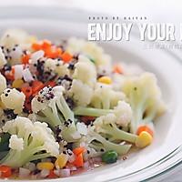 西式沙拉--三色黎麦花菜沙拉#宜家让家更有味#的做法图解22