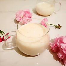 香蕉牛奶汁#春天不减肥,夏天肉堆堆#