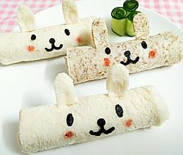 兔兔(嘉顿原味方包,全麦方包)的做法