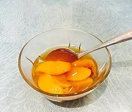 孕妇孕期食谱——黄桃罐头的做法