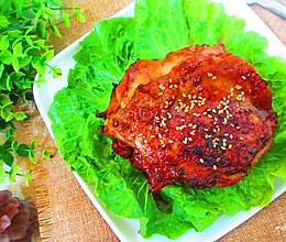 碳烤鸡腿肉的做法