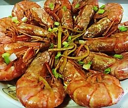 油焖阿根廷红虾的做法