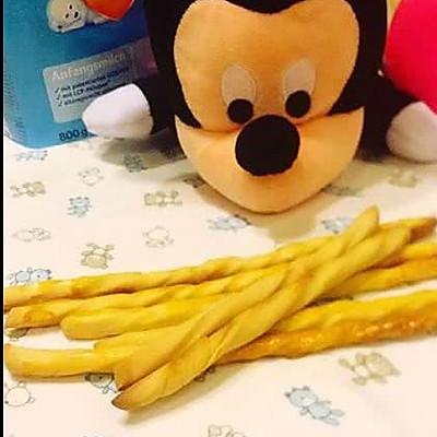 宝宝辅食——奶香磨牙棒