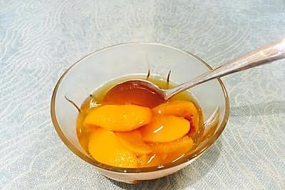 孕妇孕期食谱——黄桃罐头