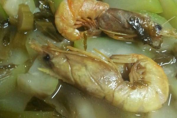 雪菜蒲瓜汤的做法