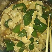 好做好吃的东北尖椒干豆腐