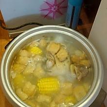 玉米清炖鸡汤