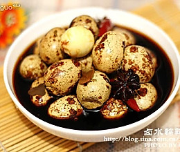 卤水鹌鹑蛋(菜品作者:83小钟)的做法