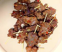 牙签牛肉(烤箱)