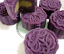 简单紫薯月饼的做法