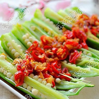 养生大菜黄秋葵的简易做法