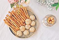#夏日消暑,非它莫属#肉松阿拉棒&肉松芝麻小饼的做法