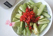 酸辣黄瓜条的做法