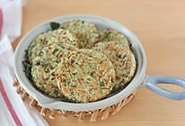 时节里鲜嫩的槐花煎饼的做法