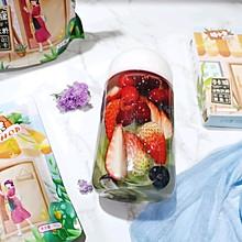 多莓蔬果苏打水#糖小朵甜蜜控糖秘籍#