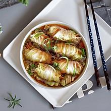 金针菇白玉卷(无油)#中式减脂餐#