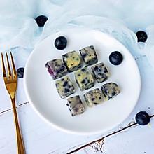 宝宝辅食之蓝莓山药蛋糕