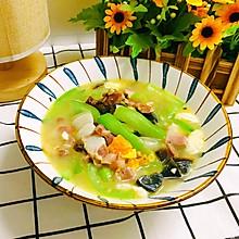 丝瓜的高级吃法—上汤丝瓜