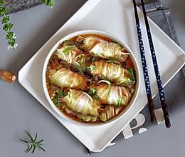金针菇白玉卷(无油)#中式减脂餐#的做法