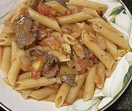 番茄牛肉通心粉的做法