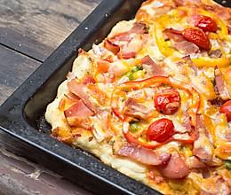 培根披萨的做法