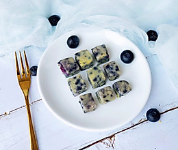 宝宝辅食之蓝莓山药蛋糕的做法