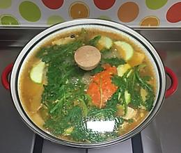 韩式花蟹汤的做法
