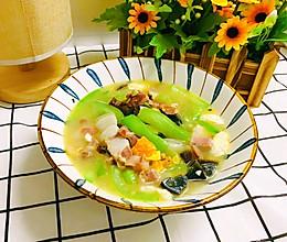丝瓜的高级吃法—上汤丝瓜的做法