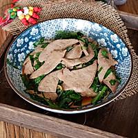 韭菜炒猪肝的做法图解15