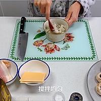 芝士培根芋泥烤口蘑—快手小食系列的做法图解5