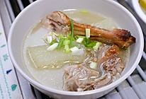 超鲜的冬瓜鸭架汤的做法