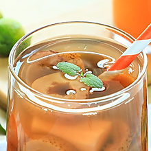 山楂红枣汤+白萝卜雪梨汤