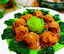 #憋在家里吃什么#简单好吃的油面筋塞肉的做法